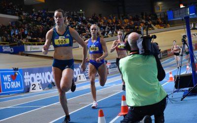NK Atletiek indoor 2017 groots succes